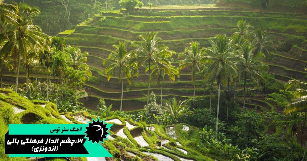 چشم انداز فرهنگی بالی اندونزی