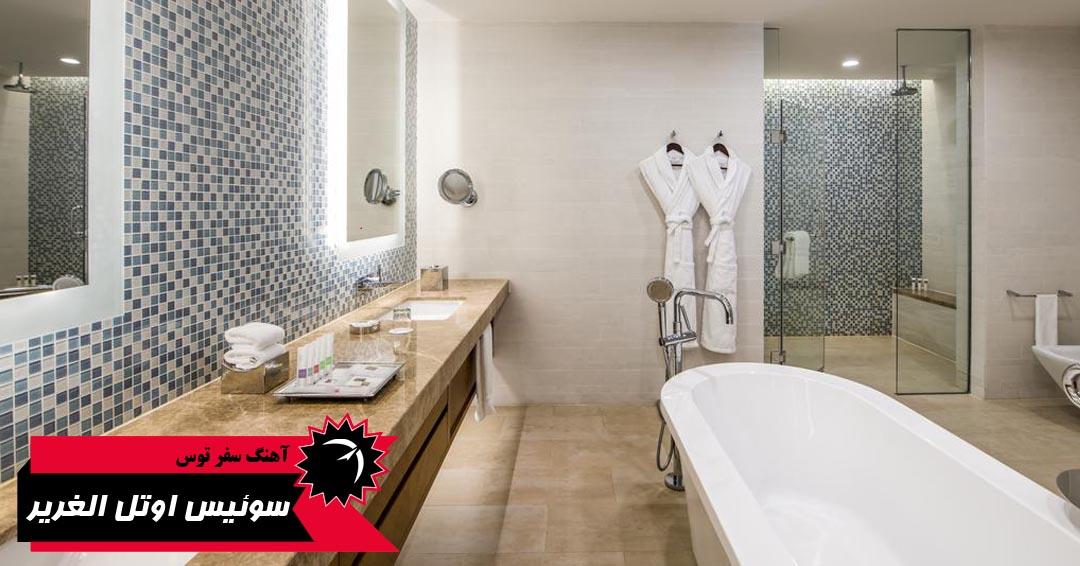 امکانات اتاق های هتل سوئیس اوتل الغریر دبی